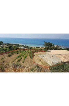 FANTASTIC LAND ALONG THE SOUTH COAST OF SICILY - PERGOLE REALMONTE
